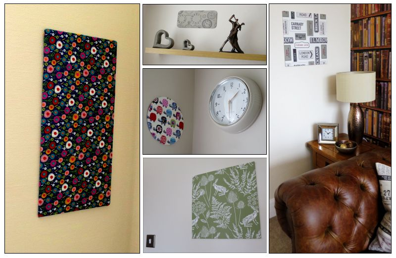 15cm X 30cm Rectangle Textile Wall Art Kit
